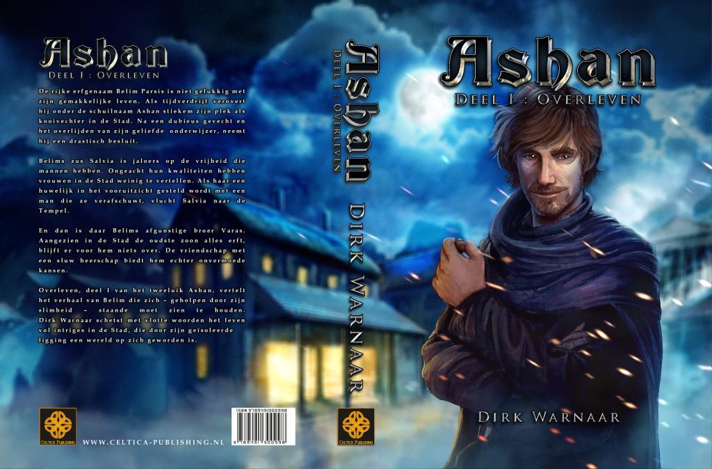 Omslag Ashan I - Overleven