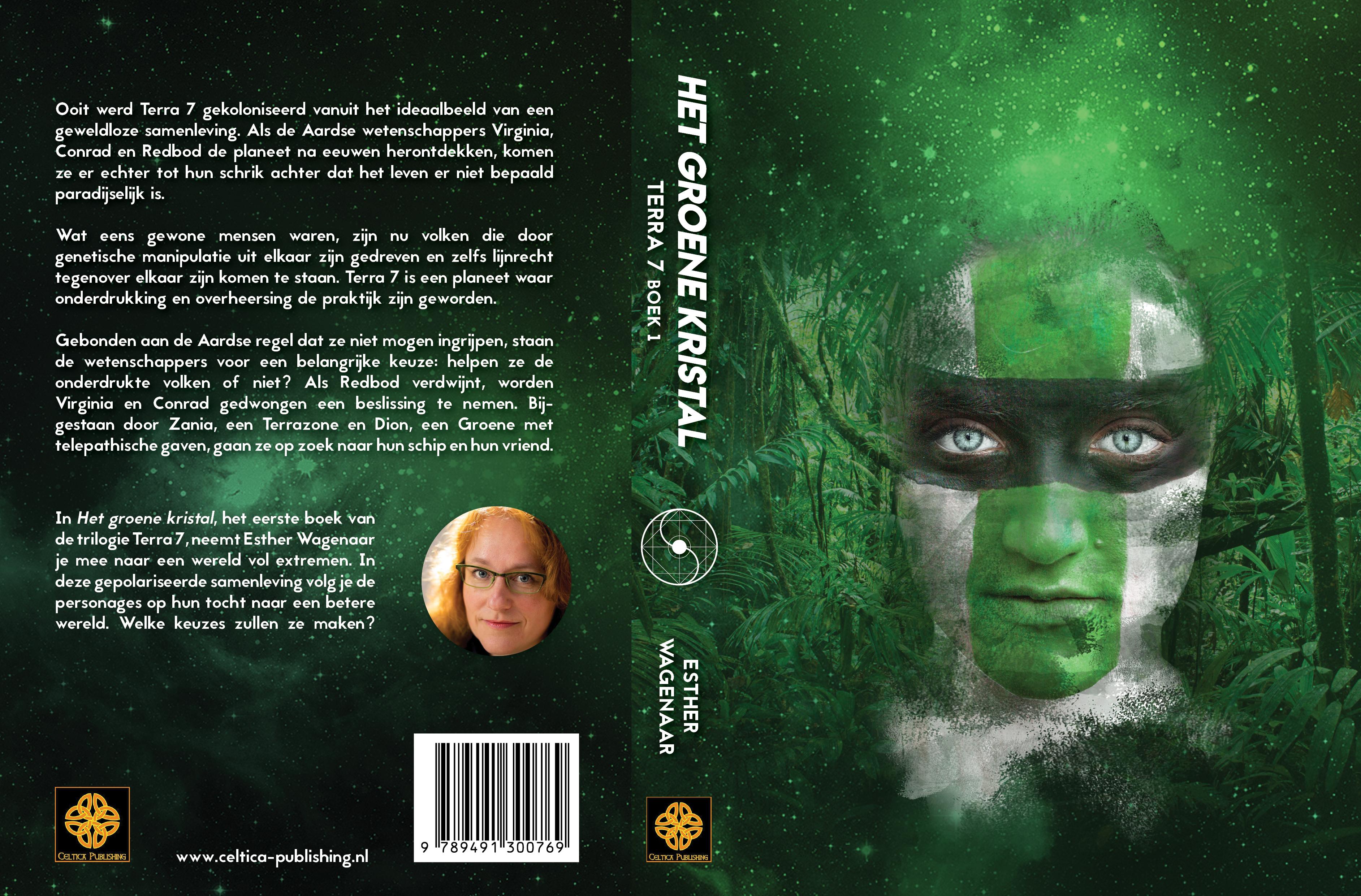 Omslag Het groene kristal