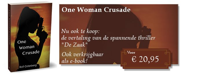 Reclame One Woman Crusade