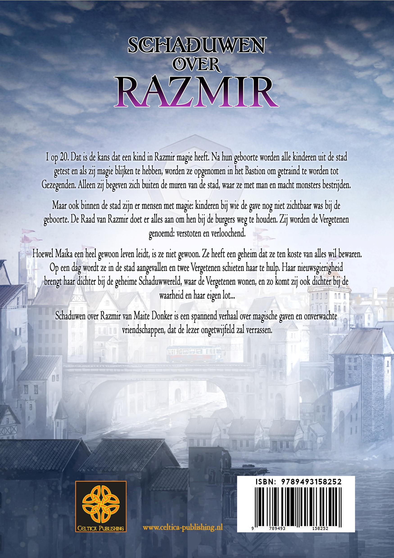 Achterkant Schaduwen over Razmir