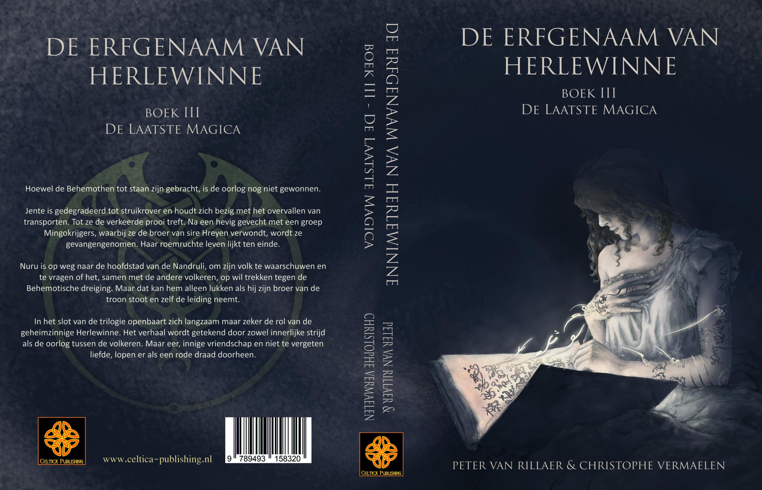 Omslag De erfgenaam van Herlewinne, III